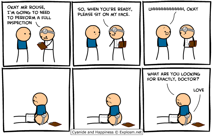 Cyanide and happiness ass