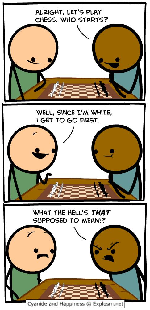chess white starts