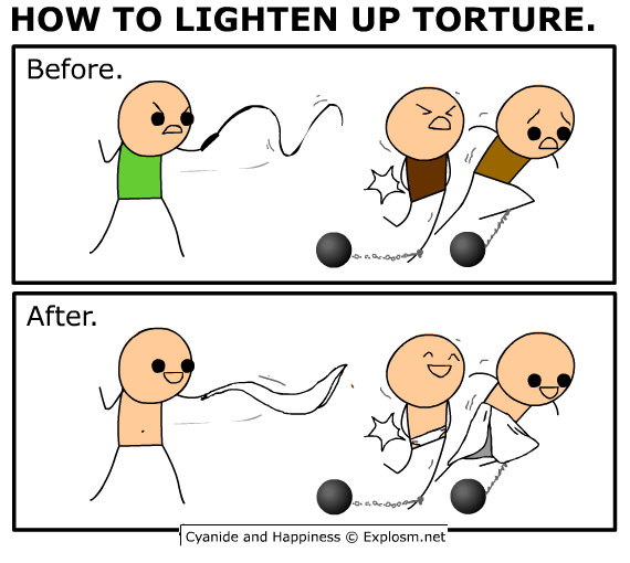 lighten up torture