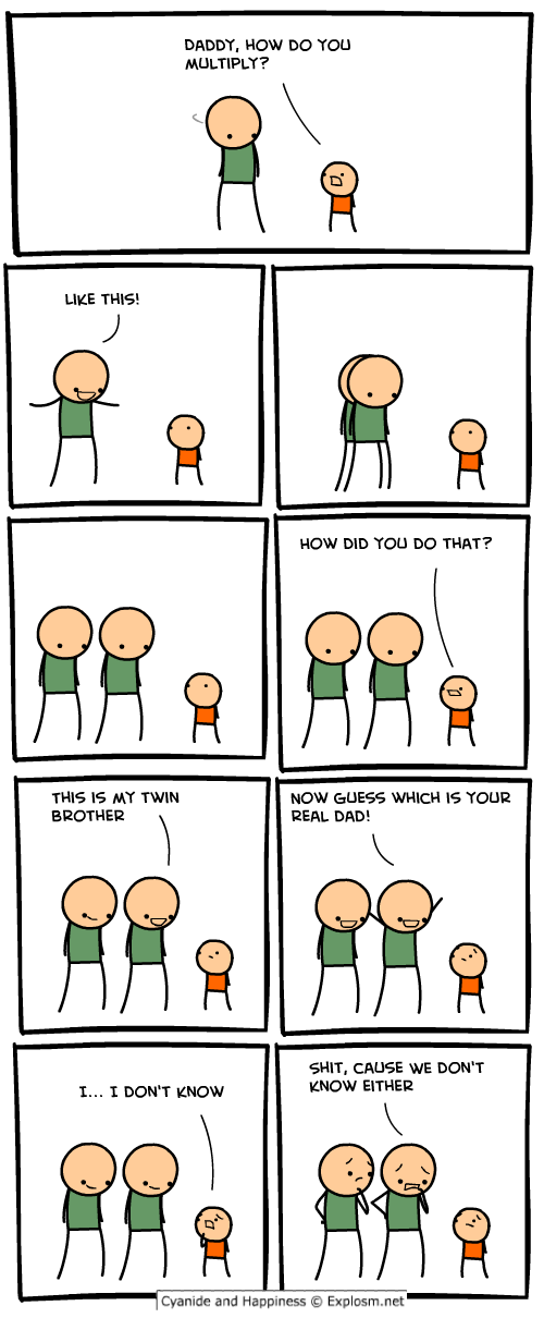 all about MEMES for people  Comictwodadsnew2