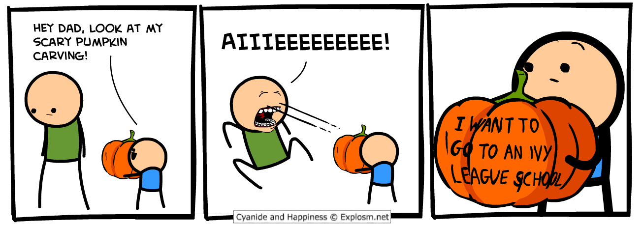 Cyanide & Happiness, Comic for 2017.10.14