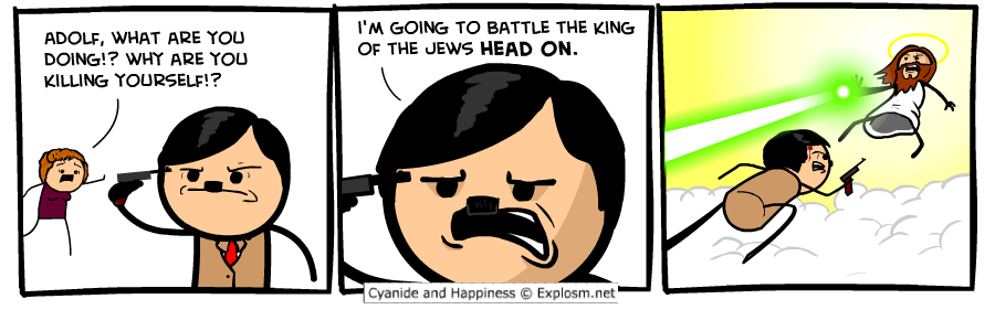 Adolf battle the king of the jews