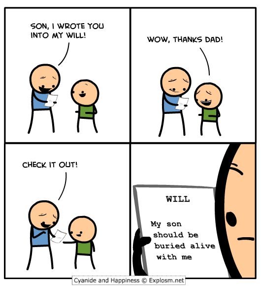 father and son relationship funny cartoons
