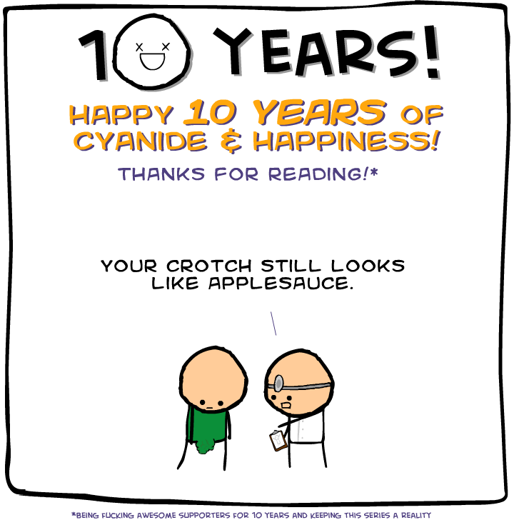 10 years cyanide and happiness