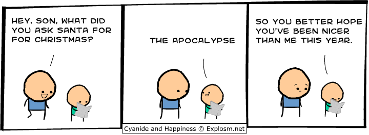 ask santa for apocalypse