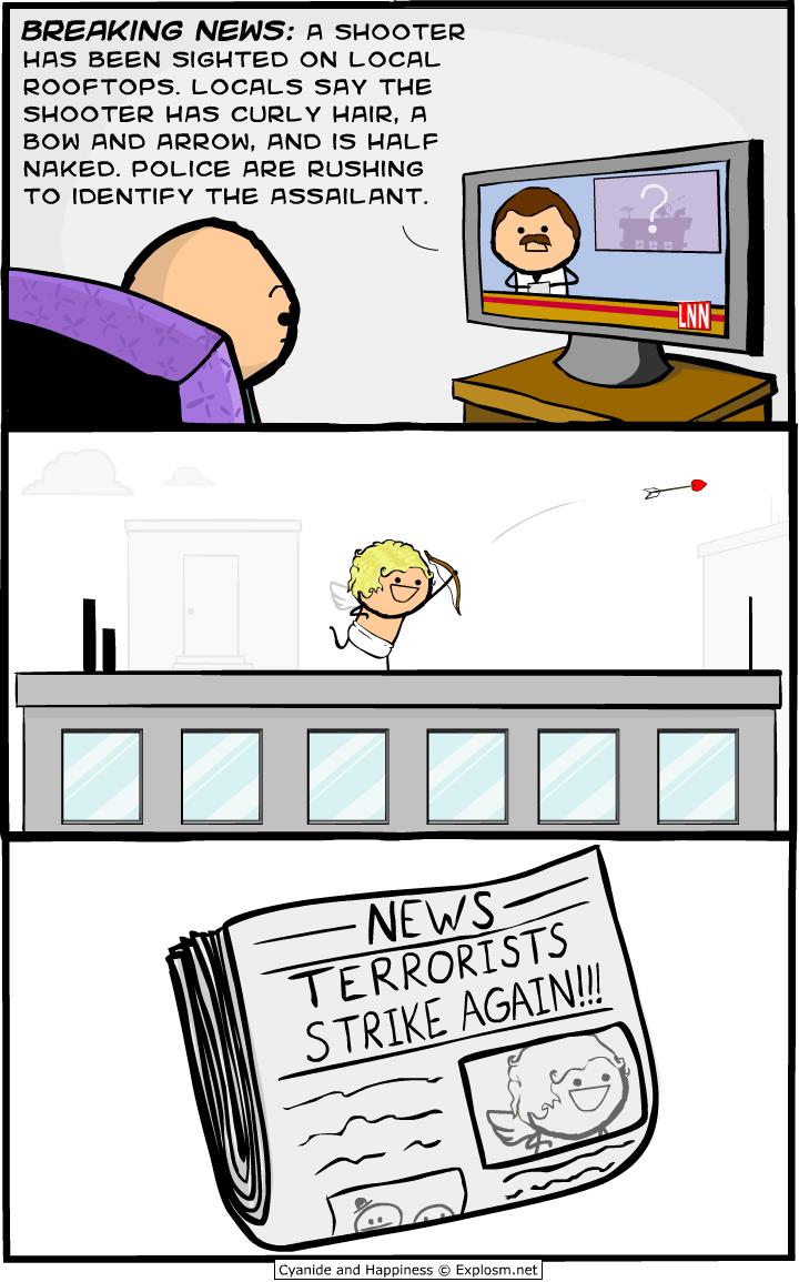valentine shooter terrorist