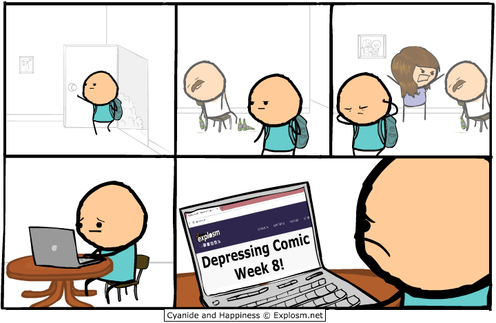 explosm Depressing Comic Week 8!