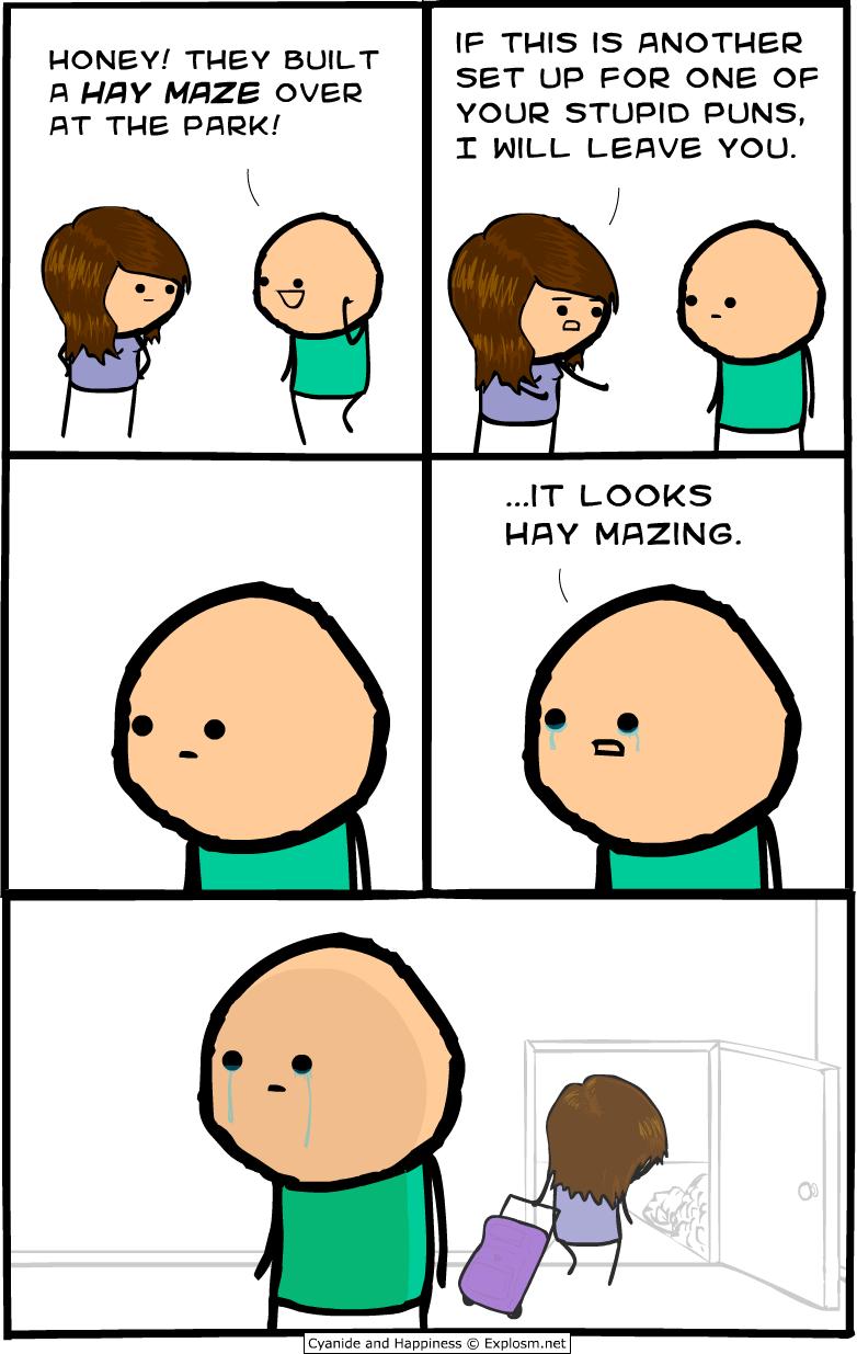 hay mazing
