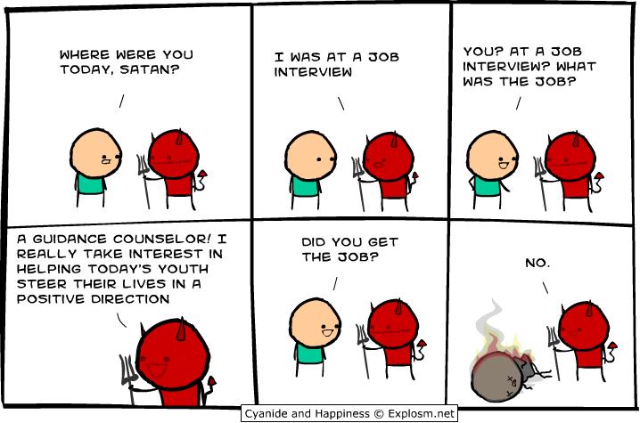 satan job