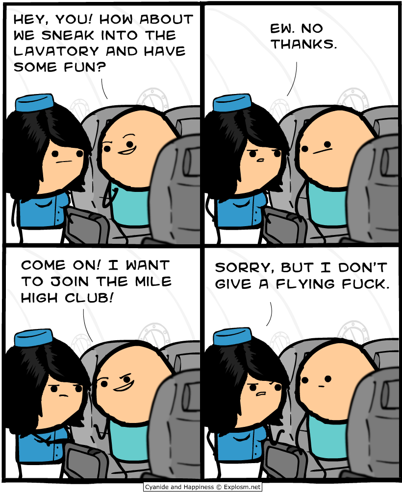 Fucking For Fun with cyanide & happiness (explosm)