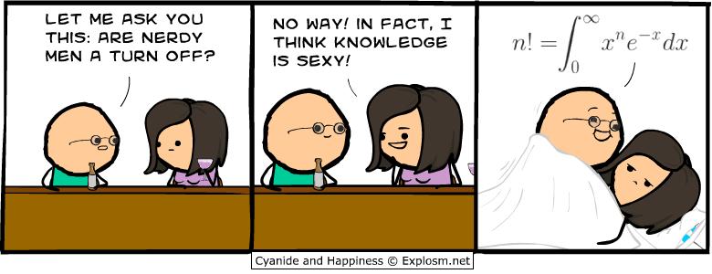 Physics comic strips
