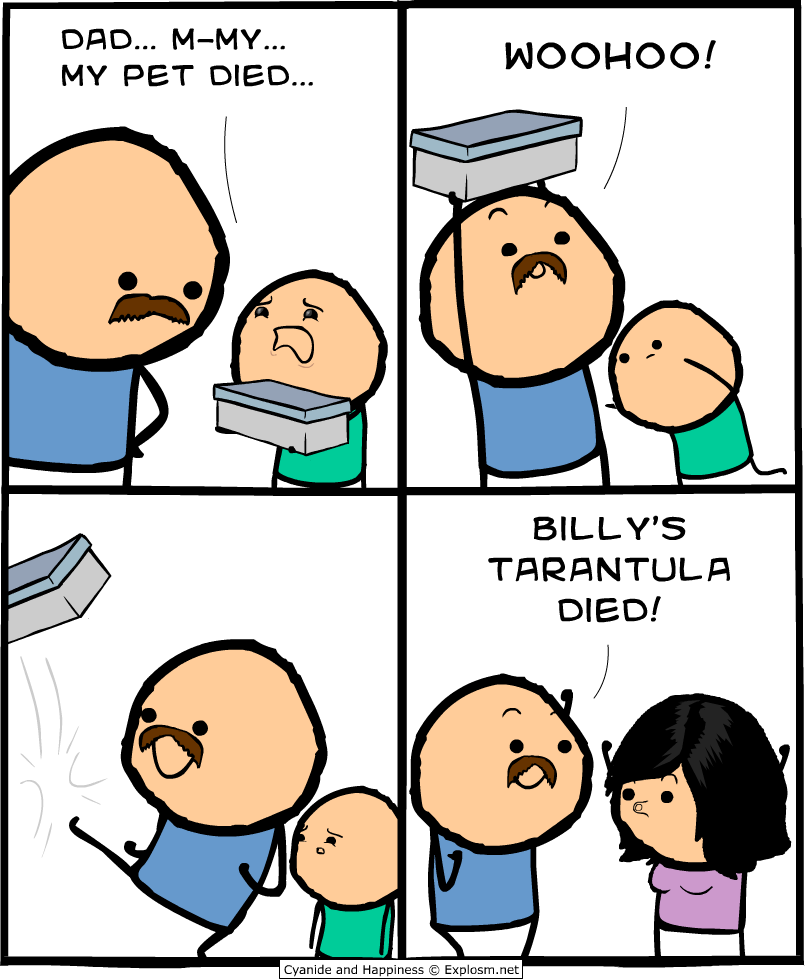 how to draw cyanide and happiness