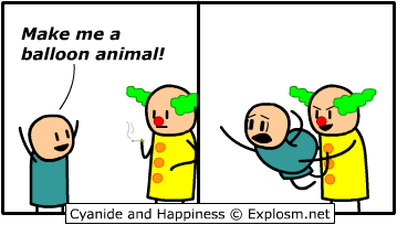 Make me a balloon animal!