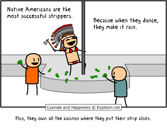 native americans strippers