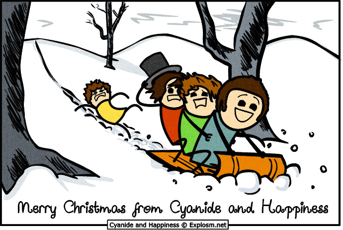 Merry Christmas from Cyanide and Happiness