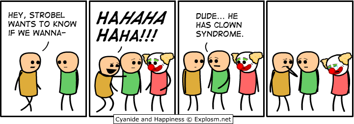 clown syndrome