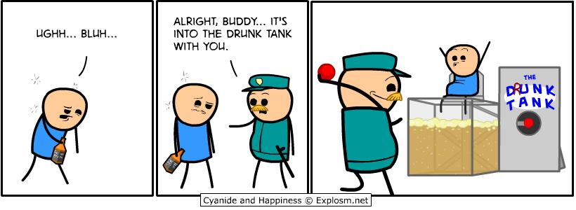 drunk tank