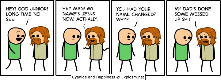Jesus God junior