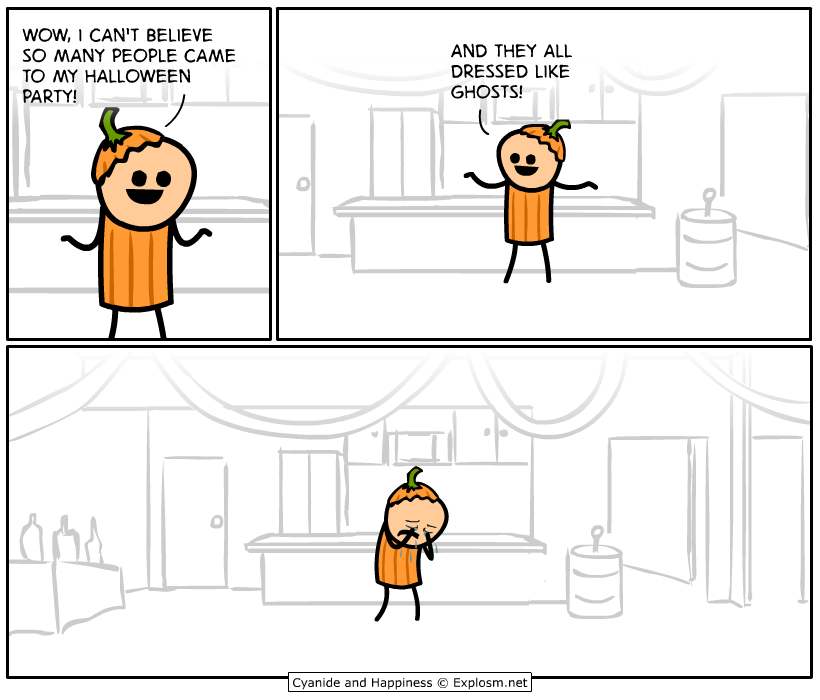 Image result for cyanide and happiness clean