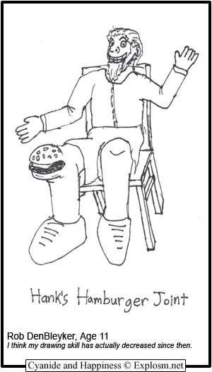 hank's hamburger joint