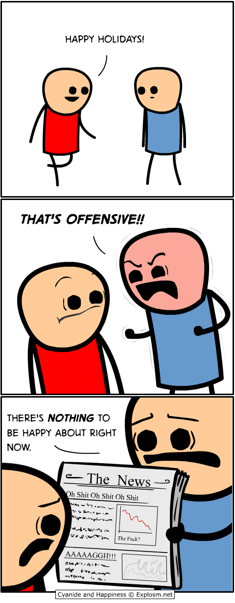 Cyanide & Happiness, Comic for 2017.12.08