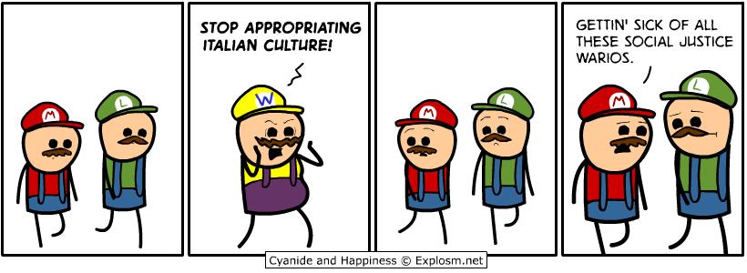 social justice warios