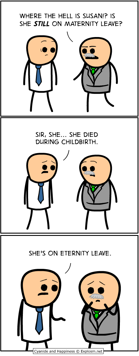 Cyanide & Happiness (Explosm net)