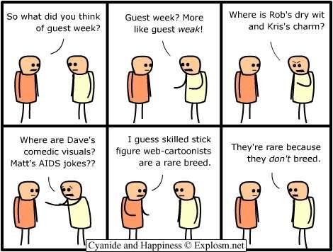 cartoonists rare breed