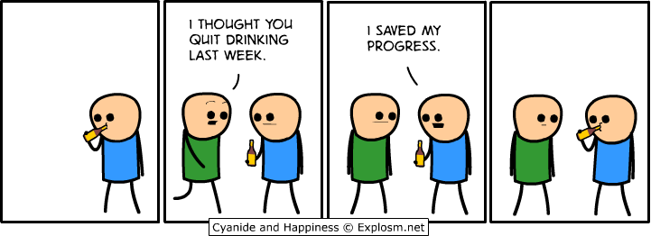saved my progress