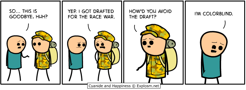 race war draft