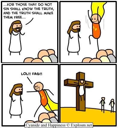 lol fag jesus