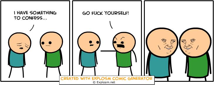 Random Comic Generator DryFriendsCap