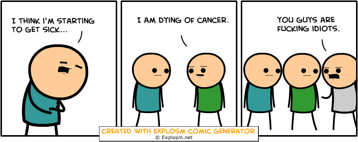 Random Comic Generator GaudyScarfLook