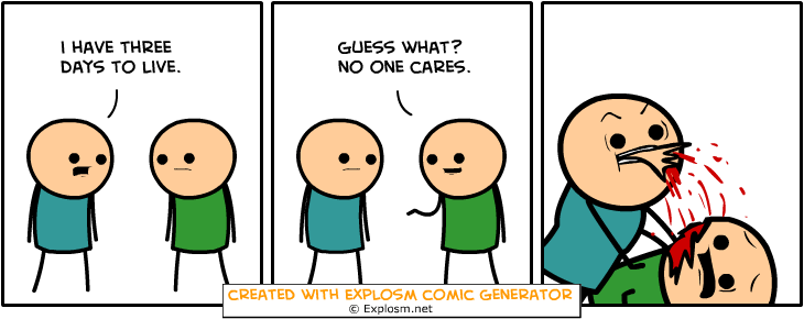 Random Comic Generator HystericalMiceVase