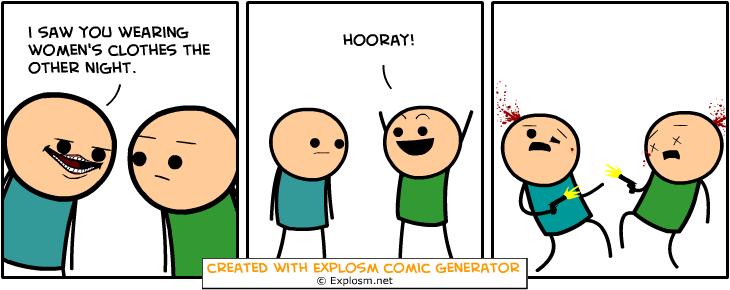 Random Comic Generator MeekBitPaper