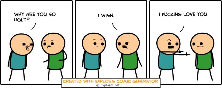 Random Comic Generator StingySubstanceDebt