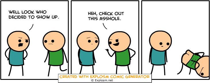 Random Comic Generator SuccessfulHairGround