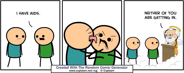Cyanide & Happiness Random Comic Generator | IGN Boards