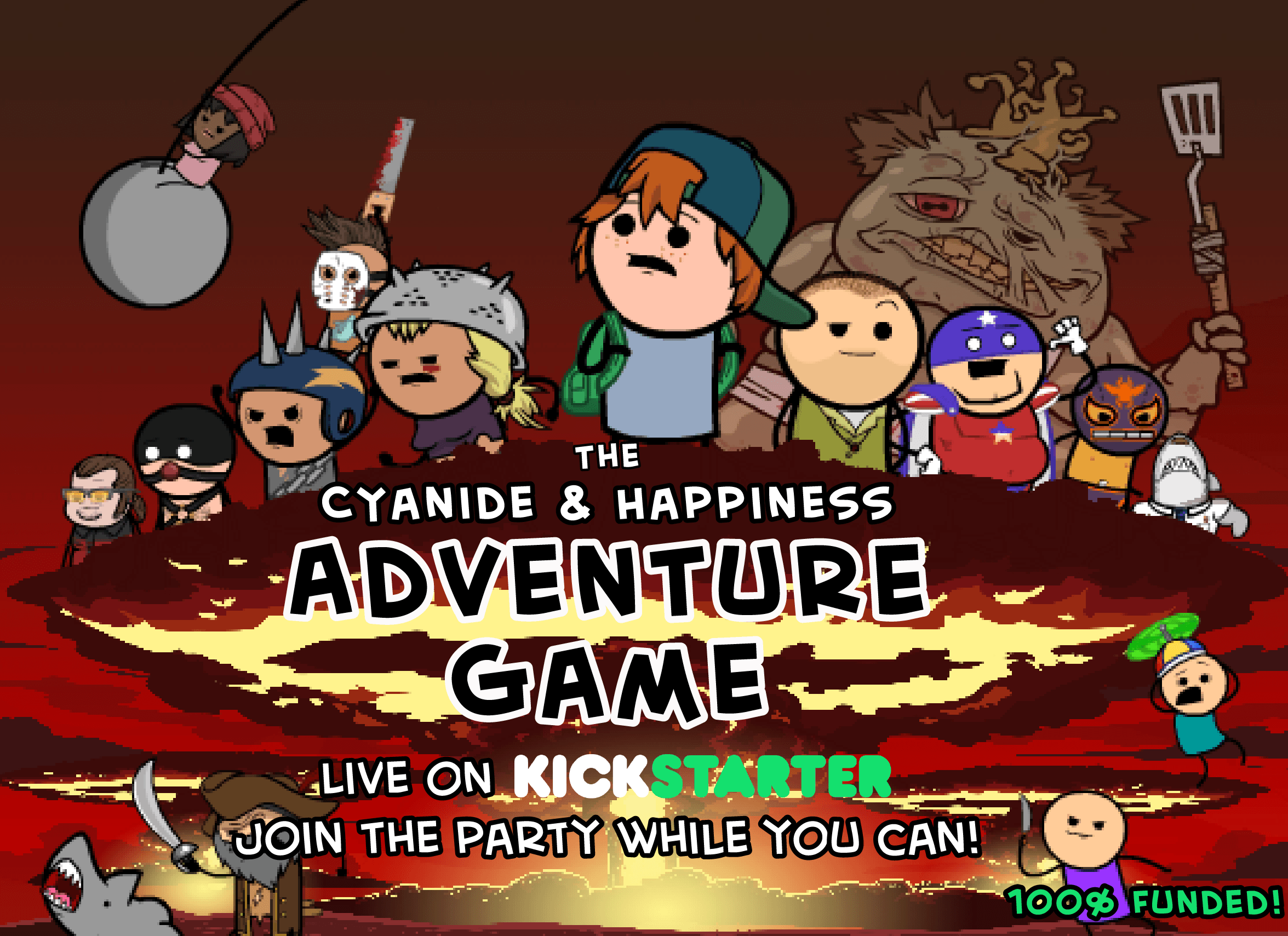 The Cyanide & Happiness Adventure Game!