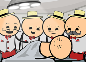Barbershop Quartet Performs Surgery