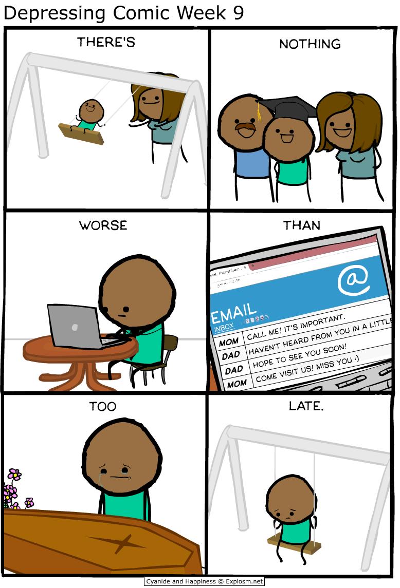 Depressing Comic Week 9