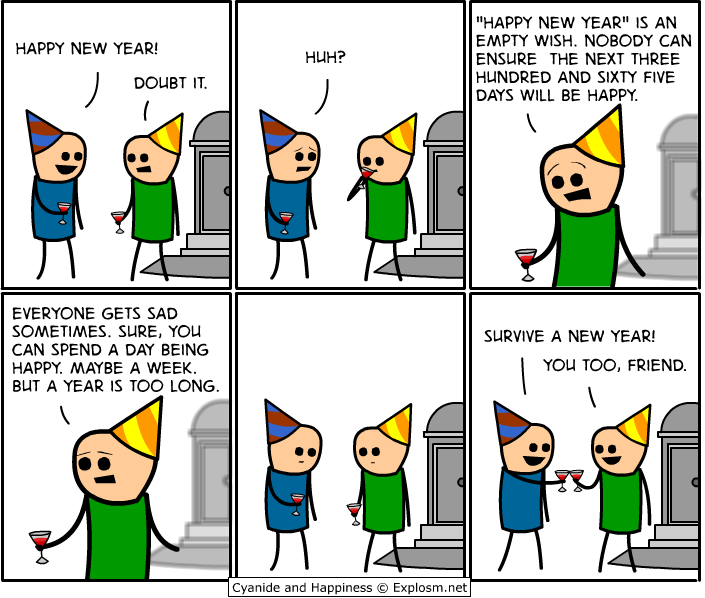 May you survive a new year