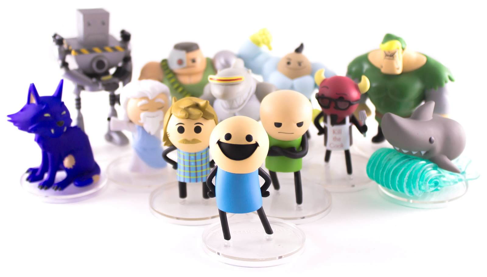 C&H Mini-Figurines